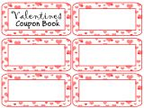 Valentine S Day Coupon Template Coupon Book Template Cyberuse