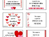 Valentine S Day Coupon Template Valentine 39 S Day Love Coupons events to Celebrate