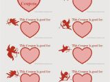 Valentine S Day Coupon Template Valentine Coupons Free Printable