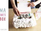 Valentine Tissue Box Card Holder Llama Valentine S Day Box Valentine Day Boxes
