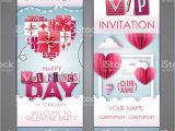 Valentine Wish Card with Name Glucklich Valentinstag Einladung Design Mit Liebe Herzen