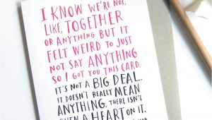 Valentines Card Just Started Dating D Zoom Funny Valentines Day Pictures Funny Love Cards