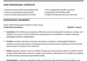 Value Based Resume Template This is An Example Of A Value Based Resume Creating A