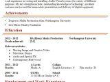 Valve Technician Resume In Word format Audio Visual Technician Cv Template 1