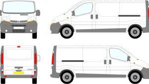 Van Sign Writing Templates Renault Trafic Vauxhall Vivaro Lwb Tailgate 00 08 Flickr
