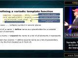 Variadic Templates C Cppcon 2015 Peter sommerlad Variadic Templates In C 11