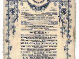 Vaudeville Poster Template Vaudeville Programme Bogstaver Typography Pinterest