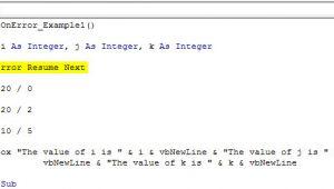 Vb On Error Resume Next Vba On Error Statement top 3 Ways to Handle Errors In Vba