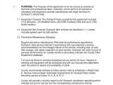 Vehicle Maintenance Contract Template 18 Maintenance Contract Templates Word Google Docs