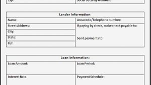 Vehicle Promissory Note Template Free Free Promissory Note Template Word Calendar Template