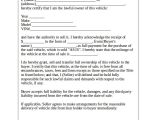 Vehicle Sale Contract Template Vehicle Bill Of Sale Template 14 Free Word Pdf