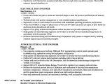 Vehicle Testing Engineer Resume Electrical Test Engineer Resume Samples Velvet Jobs