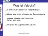 Velocity Template Engine Velocity Template Engine Ppt Herunterladen