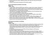 Vendor Development Engineer Resume Supplier Development Engineer Resume Samples Velvet Jobs