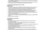 Vendor Development Engineer Resume Supplier Quality Manager Resume Samples Velvet Jobs