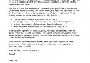 Vendor Management Cover Letter Entry Level Project Manager Cover Letter Cover Letter
