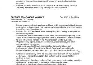Vendor Management Cover Letter Resume Vendor Relations Manager Cover Letter Best