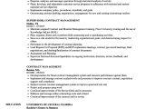 Vendor Management Resume Sample Contract Management Resume Samples Velvet Jobs