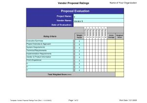 Vendor Scorecards Templates Best Photos Of Scorecard Template Excel Project