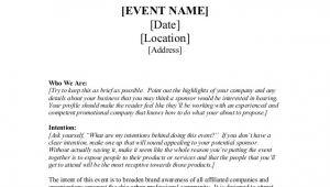 Venue Sponsorship Proposal Template Sponsorship Proposal