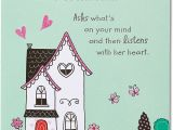Verse for New Home Greeting Card American Greetings Kerze Geburtstagskarte Mit Vogel Und