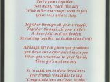 Verse for Ruby Wedding Anniversary Card Wedding Anniversary Poems