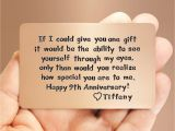 Verses for Husband Anniversary Card Mens Gift Idea 9th Anniversary Unique Gift for Him
