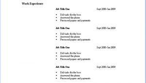 Very Basic Resume Template Basic Resume Templates Download Resume Templates Job