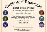 Veterans Appreciation Certificate Template 10 Best Images Of Veterans Certificates Templates