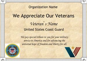 Veterans Appreciation Certificate Template 8 Best Images Of Veterans Day Certificates Printable