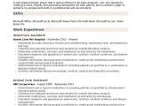 Veterinary assistant Resume Samples Veterinary assistant Resume Samples Qwikresume