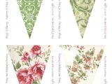 Vintage Bunting Template 17 Best Images About Banners Bunting On Pinterest
