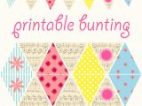 Vintage Bunting Template 5 Best Images Of Free Printable Paper Bunting Free