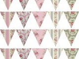 Vintage Bunting Template Fancy Vintage Bunting Template Ideas Professional Resume