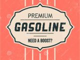 Vintage Sign Templates Free Vintage Gasoline Sign Retro Template Stock Vector