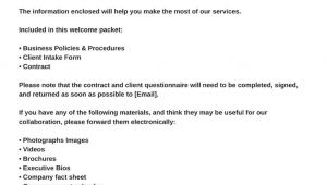 Virtual assistant Contract Template Virtual assistant Welcome Packet and Contract Va