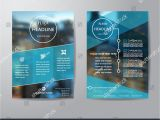Visiting Card Background Design Free Download Business Brochure Flyer Design Layout Template In A4 Size