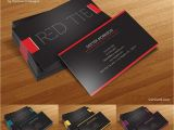 Visiting Card Background Design In Photoshop Free Business Card Template Red Tie Business Card