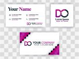 Visiting Card Background Eps File Free Download Clean Business Card Template Concept Vector Purple Modern