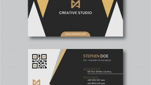 Visiting Card Background Light Colour Modern Business Card Template Download Free Vectors