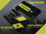 Vistaprint Christmas Card Promo Code Design Unique Vista Print Moo Print and Gold Foil Business Card