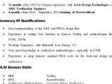 Vlsi Design Engineer Resume Resume format Vlsi Design Engineer Resume format