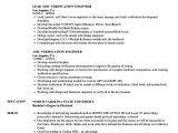 Vlsi Engineer Resume asic Verification Engineer Resume Samples Velvet Jobs