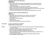 Vmware Basic Resume Vmware Resume Samples Velvet Jobs