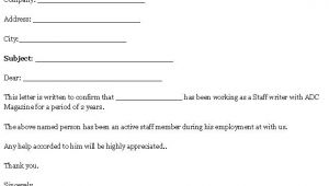 Voe Template Employment Template for Verification Letter format Of