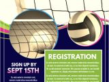 Volleyball Flyer Template Free Copy Of Volleyball Postermywall
