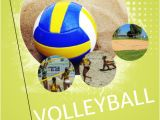 Volleyball Flyer Template Free Volleyball Game Flyer Template Postermywall