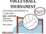 Volleyball Flyer Template Free Volleyball tournament Flyer Bunow Bloomsburg