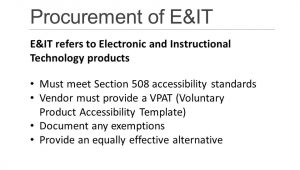 Voluntary Product Accessibility Template Section 508 Accessible Technology Initiative Ppt Download