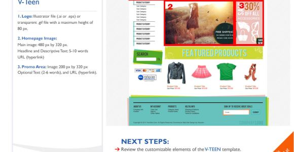 Volusion Email Templates Teen Ecommerce Templates by Volusion Seo Friendly Free